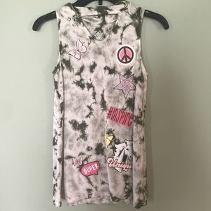 Justice girl's sleeveless top.